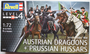 Revell 1/72 RV02453 Austrian Dragoons & Prussian Hussars (7 Years War)